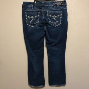 Silver Jeans Jeans - Silver Suki mid rise slim bootcut jeans (44)